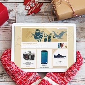 587781fd7bf3c2 So erstellst du deinen online Wunschzettel. Weihnachtswunschzettel