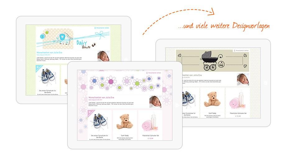 Designvorlagen für Kinder-Wunschzettel